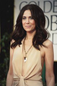 Kristen-Wiig-With-1920s-amethyst-pendant-necklace-in-white-and-rose-gold